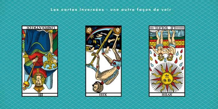 cartes inversées