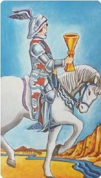 knight of cups Rider Waite