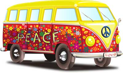 voiture hippies