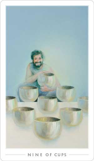 6 of cups fountain tarot