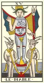 diable du tarot