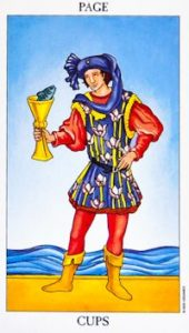 page of cups rider