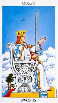 queen of swords - Rider