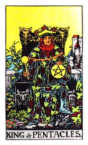 king of pentacles - rider